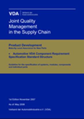 Bild von e-Specification Standard Structure