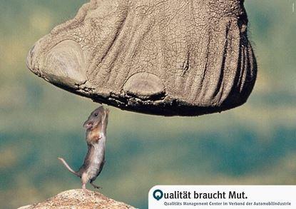 Bild von Poster: Mut