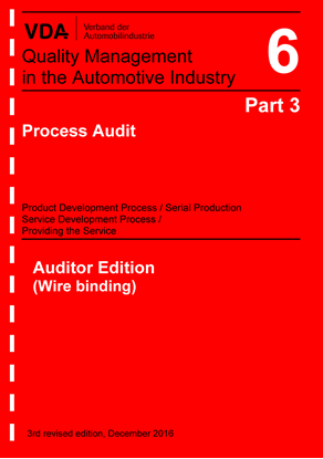 Picture of Volume  6 Part 3 - Auditor Edition, Edition 2016
