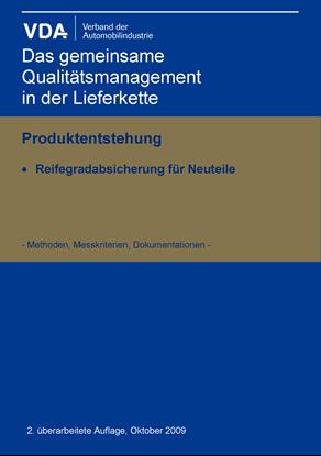 Bild von Reifegradabsicherung für Neuteile 2. Auflage