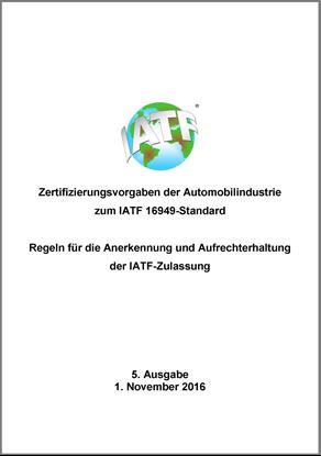 Bild von IATF-Zertifizierungsvorgaben zur IATF 16949
