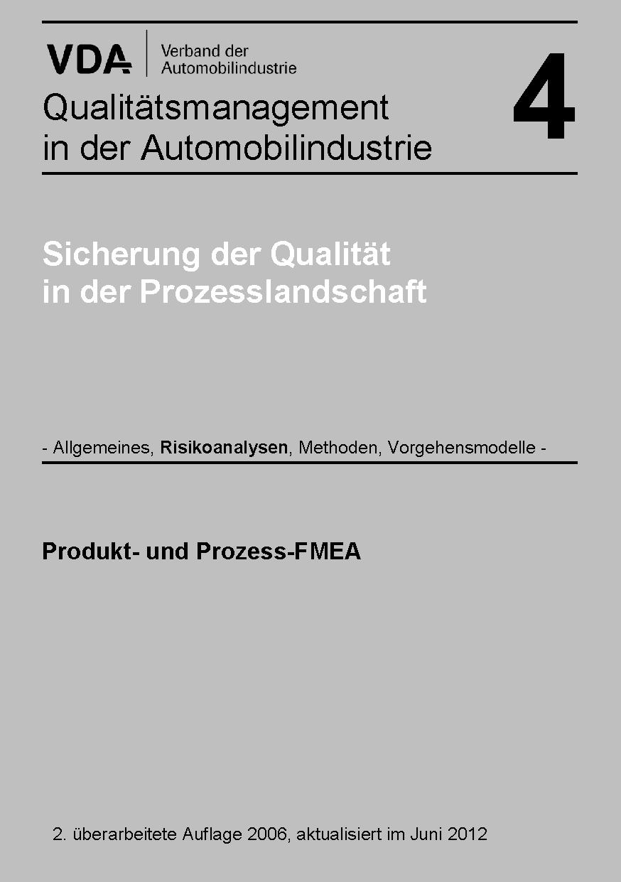 Bild von Band  4 Kapitel: Produkt- und Prozess-FMEA