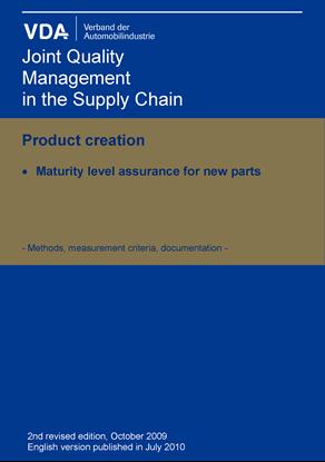 Bild von Maturity Level Assurance for New Parts