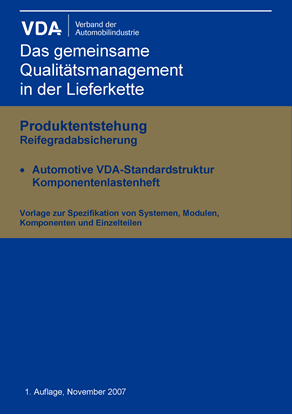Picture of Komponentenlastenheft-Automotive Standardstruktur