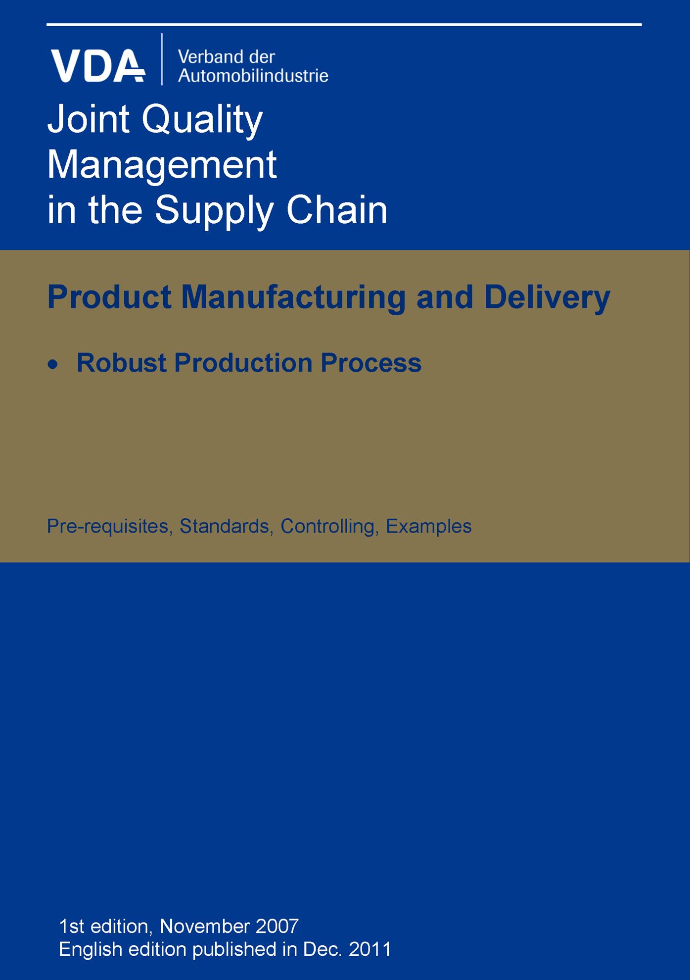 Bild von Robust Production Process