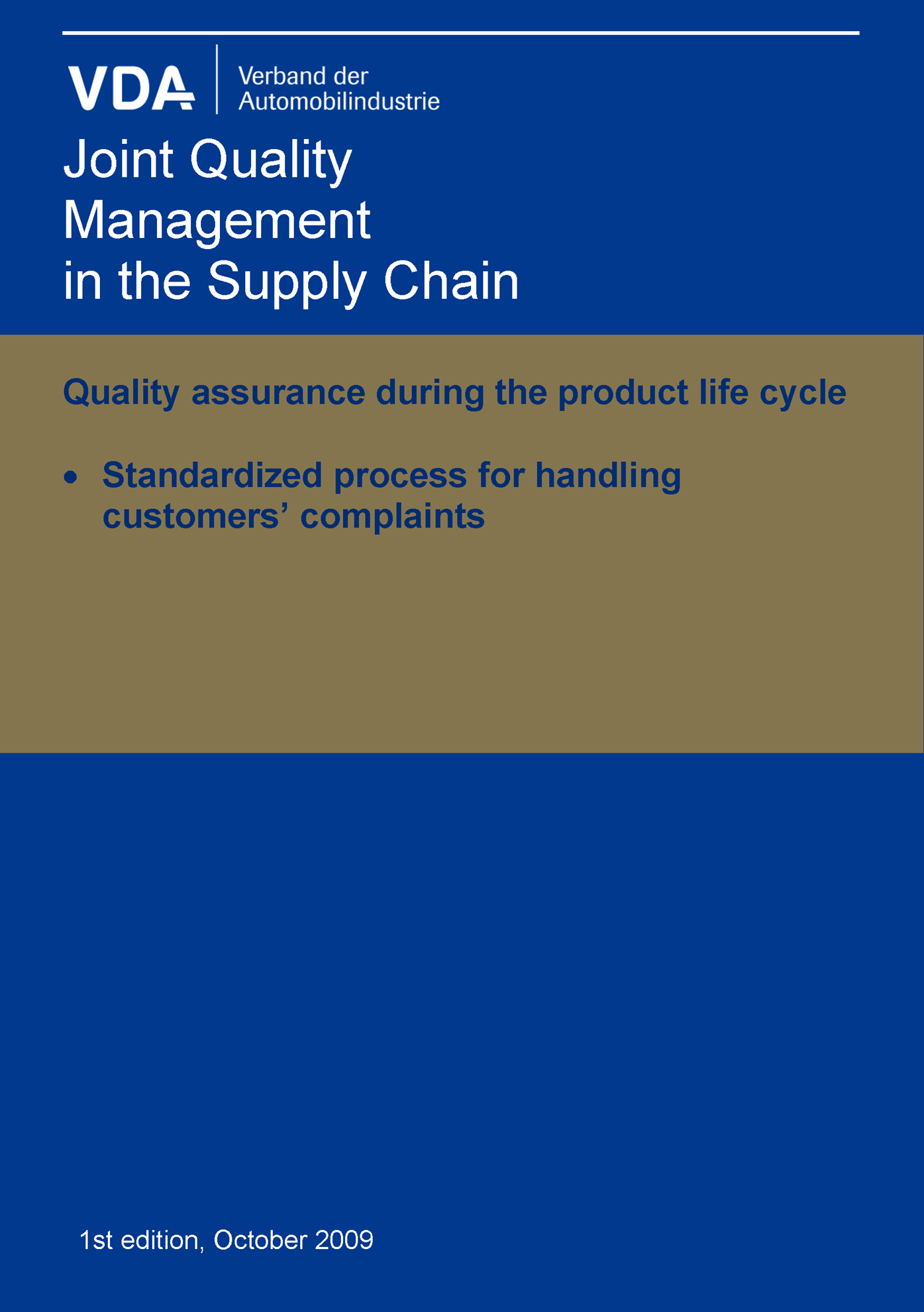 Bild von Standard Process for Handling Customer Complaints