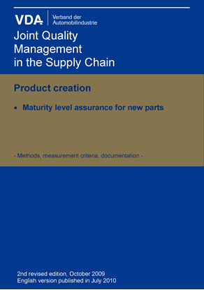 Picture of e-Book Maturity Level Assurance for New Parts