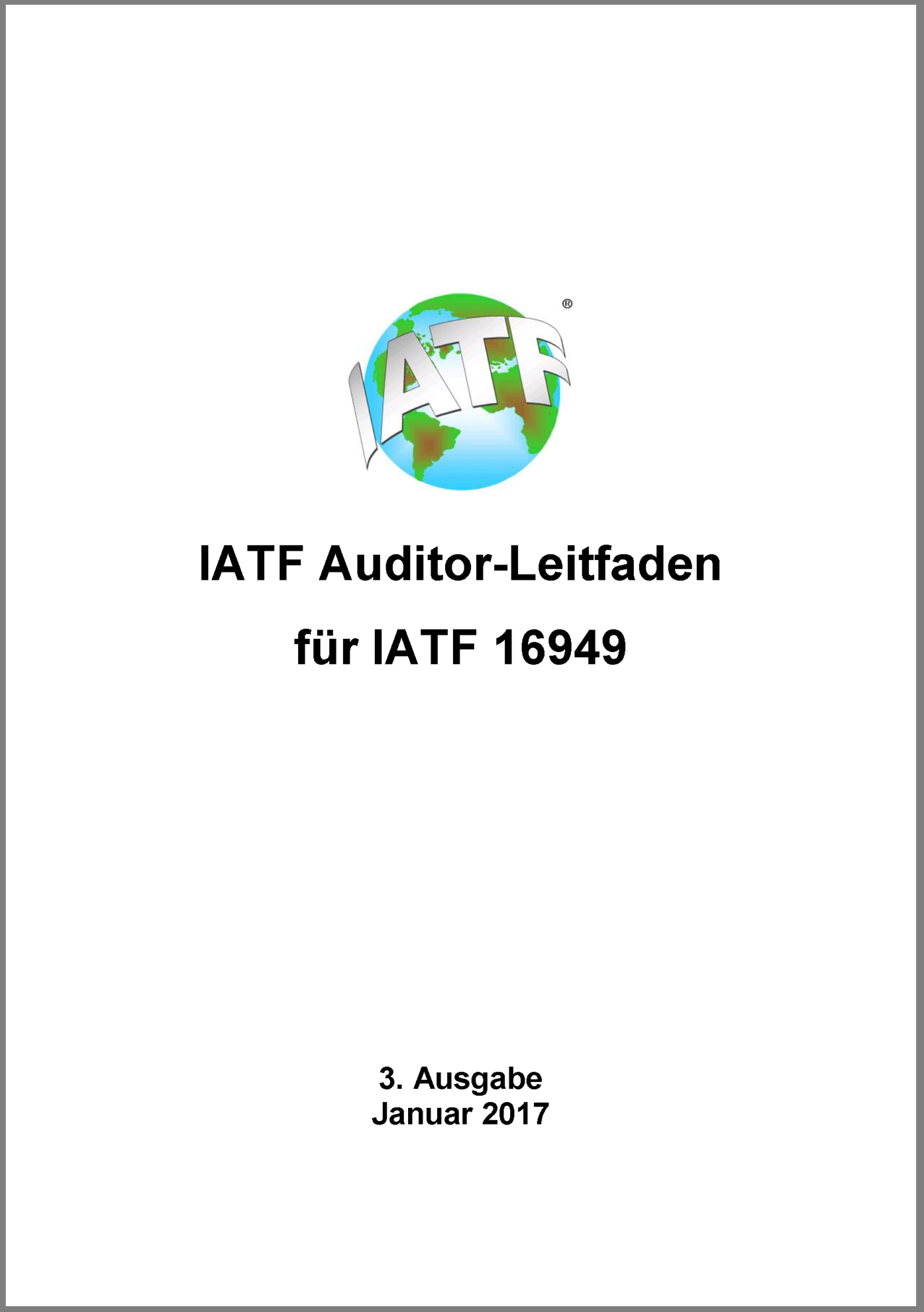Picture of IATF Auditor-Leitfaden 2017
