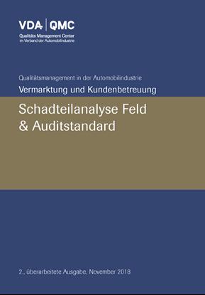 Bild von Schadteilanalyse Feld + Auditstandard