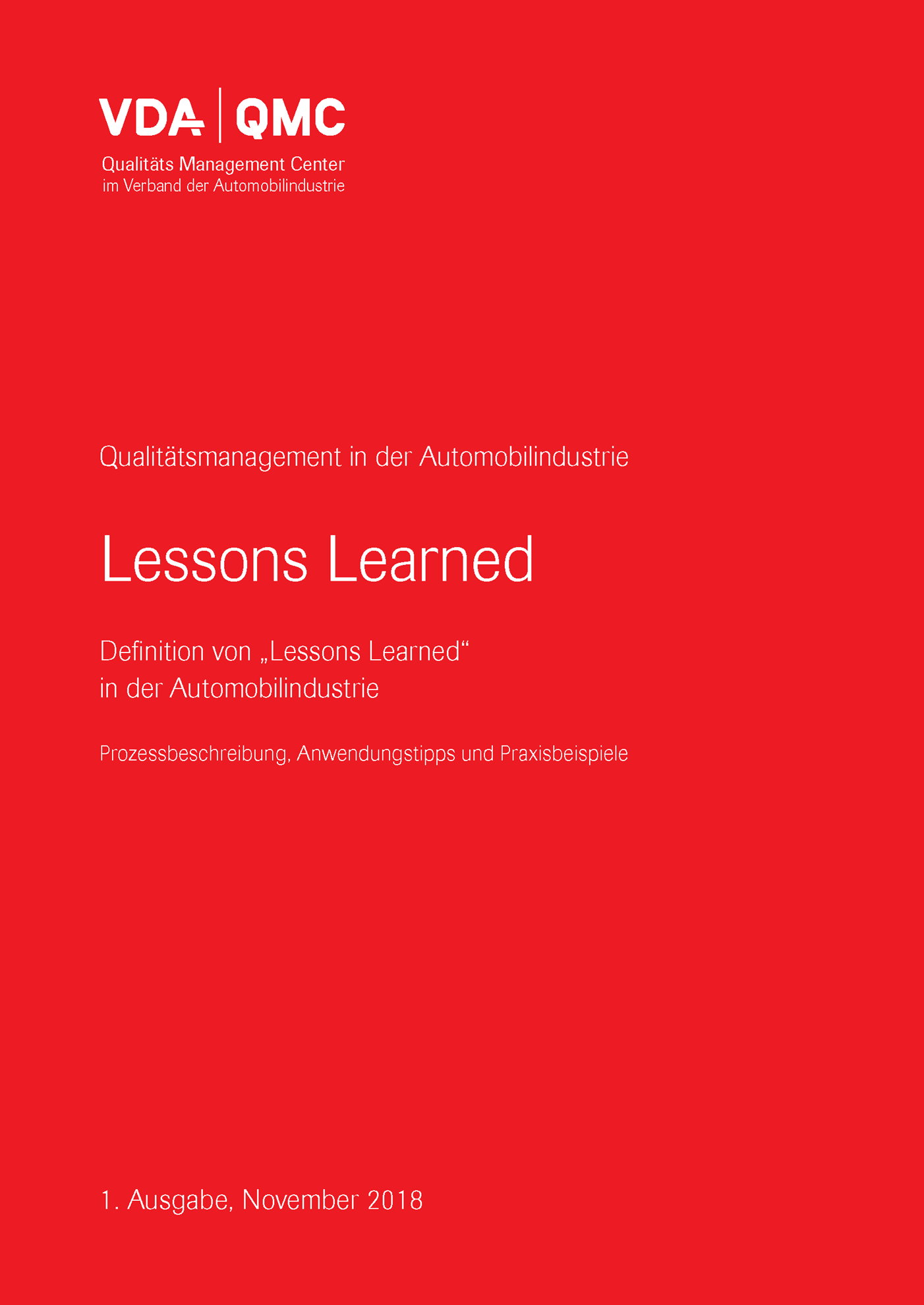 Bild von Lessons Learned - Definition