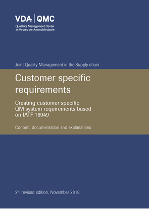 Bild von Customer specific requirement