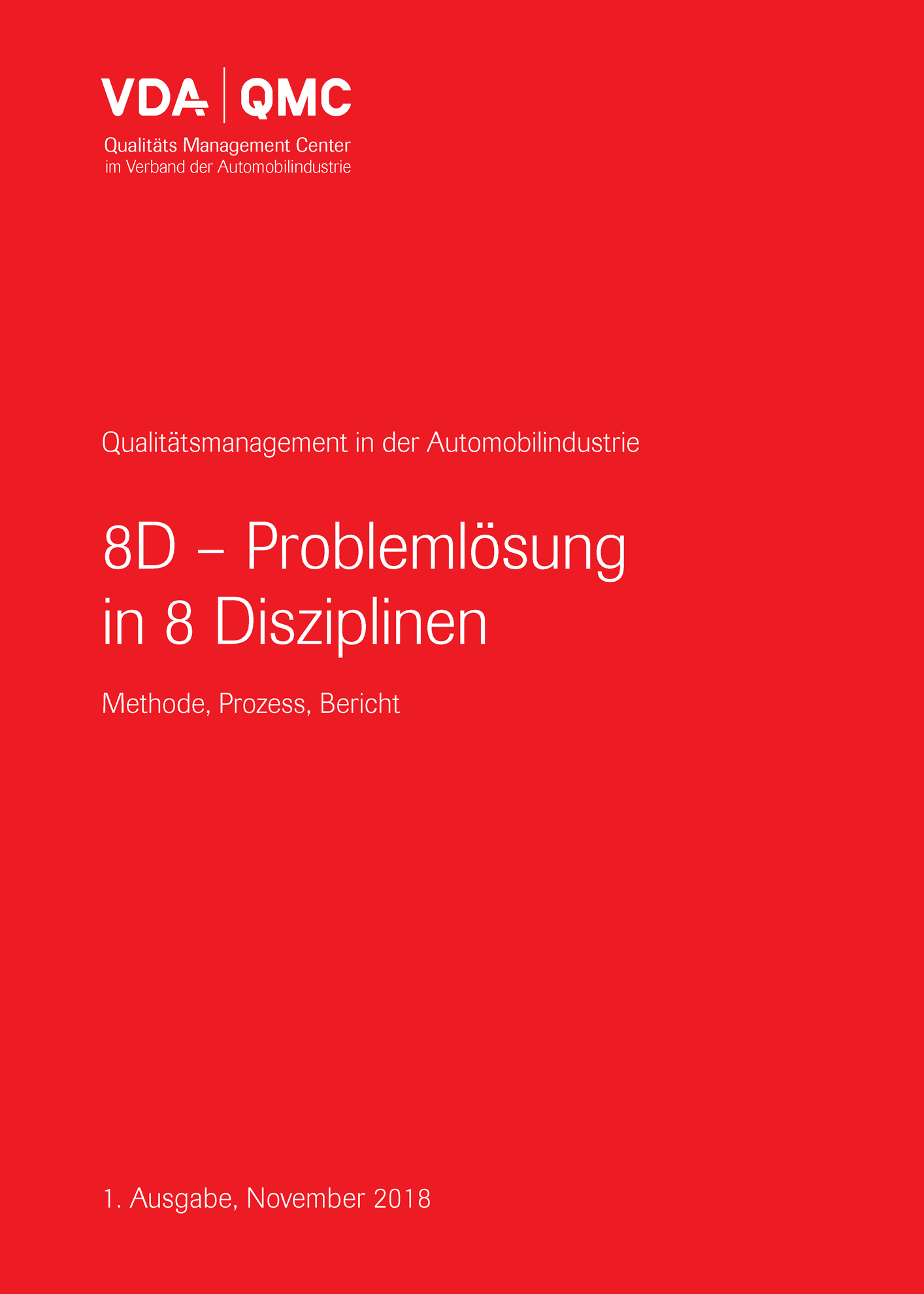 Picture of 8D - Problemlösung in 8 Disziplinen