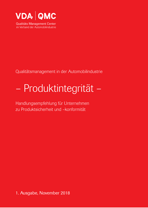 Bild von e-Book Produktintegrität