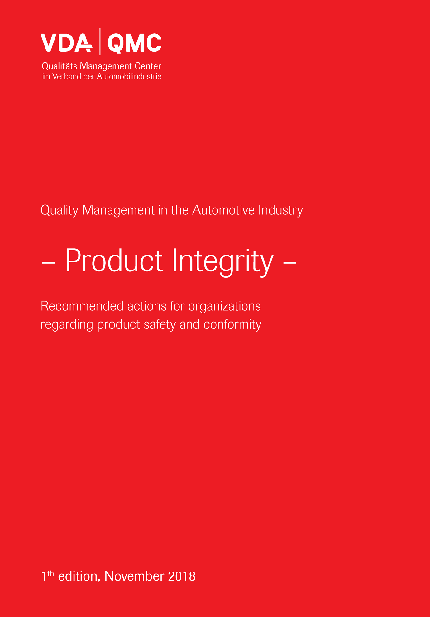 Picture of e-Book Product Integrity