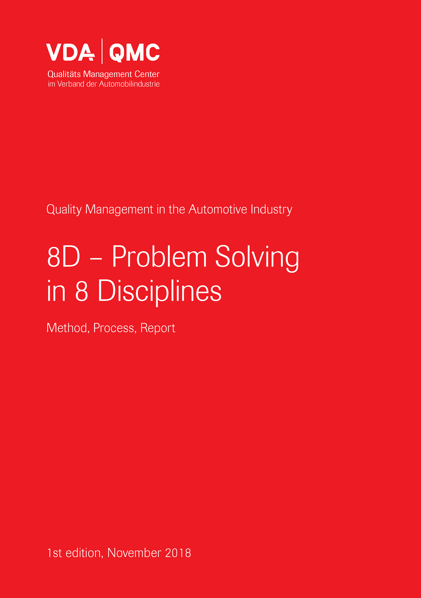 Picture of 8D - Problem Solving in 8 Disciplines