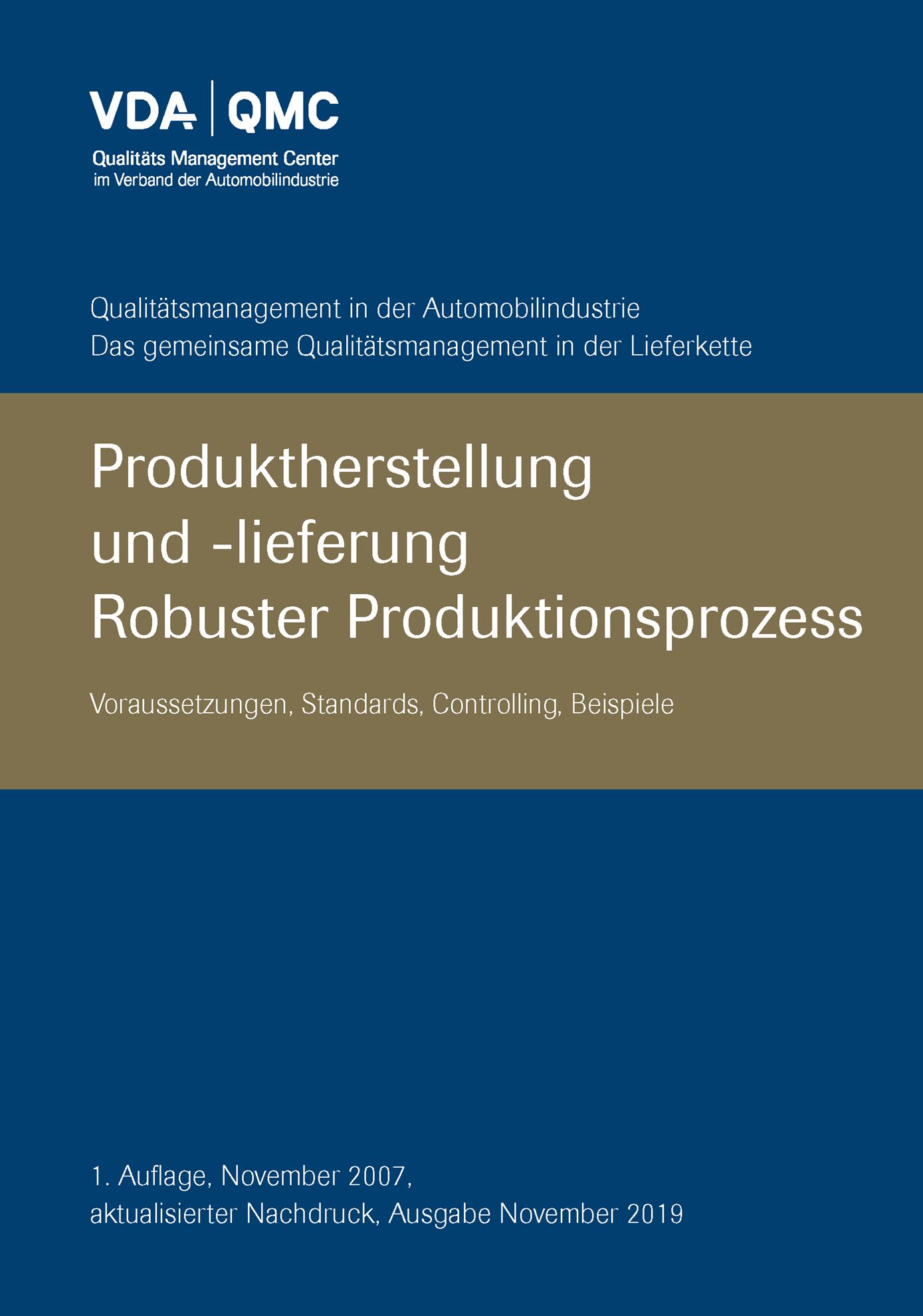 Bild von Robuster Produktionsprozess - aktual. 2019