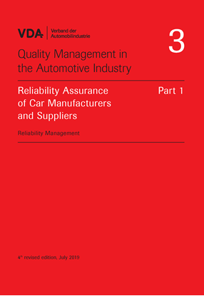 Picture of Volume 03 Part 1 Reliability Assurance