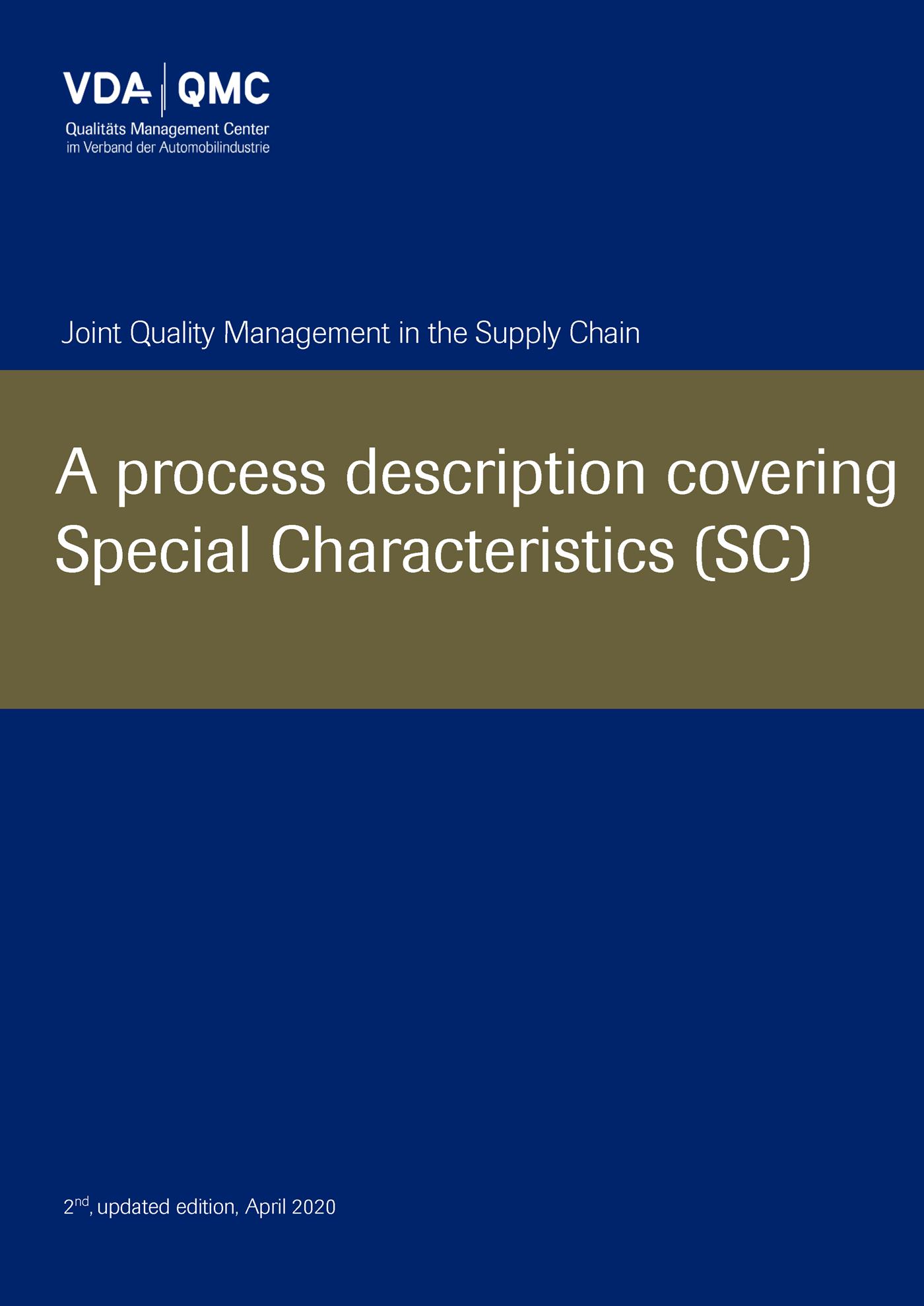 Bild von Special Characteristics (SC) 04/2020