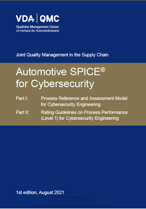 Picture of Automotive SPICE for Cybersecurity_1st Edit. 2021