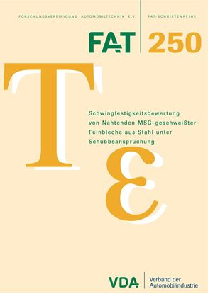 Bild von FAT-Schrift 250